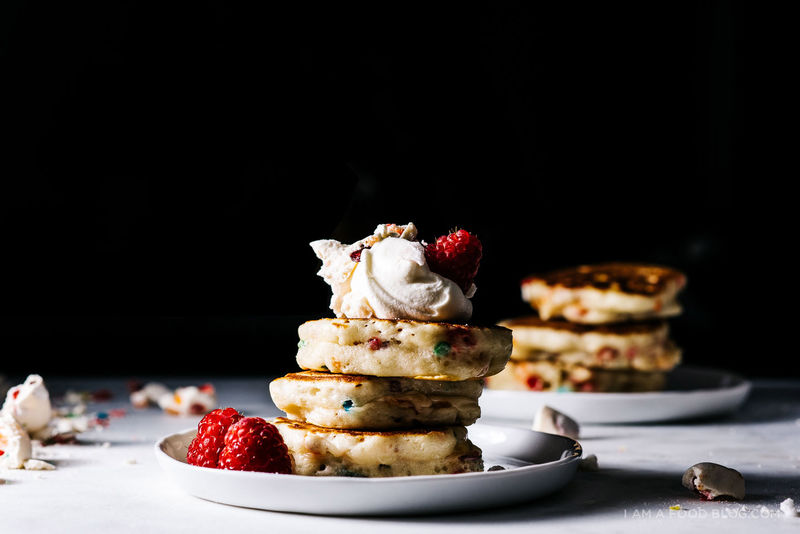 Sugary Cereal Pancakes