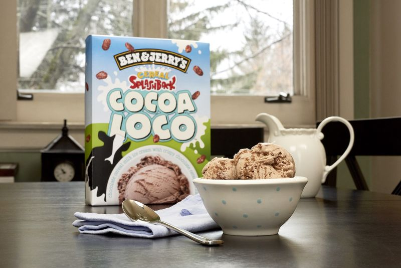 Cereal-Inspired Ice Creams