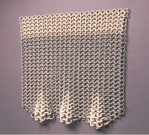 Protective Armor As Home Decor: Ruth Borgenicht Chain Mail
