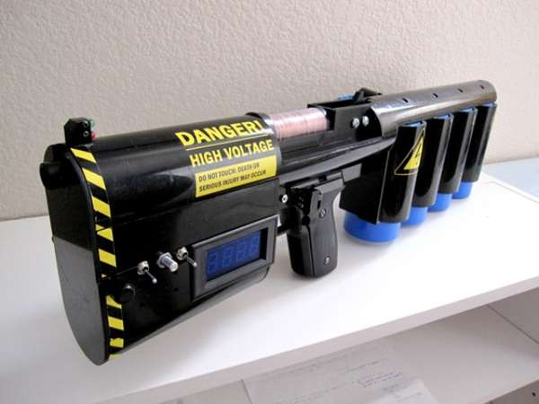 Dangerous DIY weapons