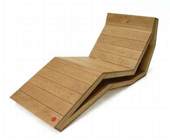 Jenga-Inspired Loungers