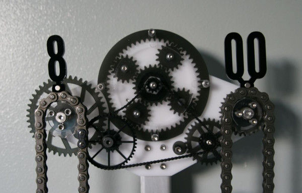Colossal Mechanized Timekeepers Chain Clock