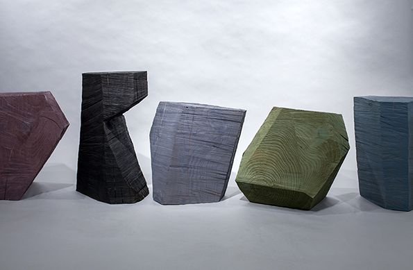 Rugged Geometric Seating