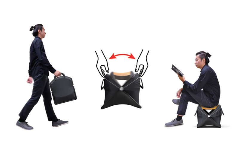 Folding Seat Travel Bags