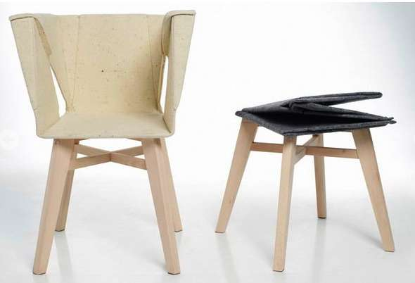 Boxy Collapsible Seating