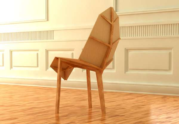 Chair Leaf by Milos Jovanovic