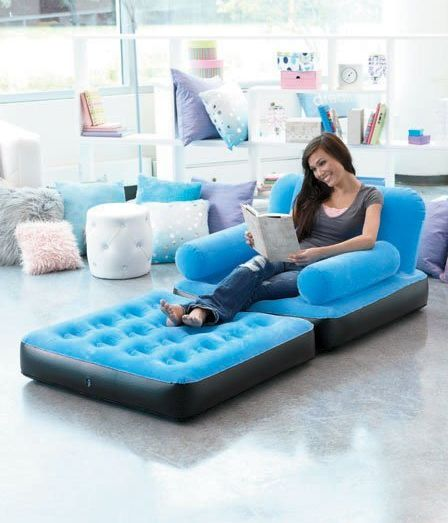 Inflatable Floor Chaise Lounges