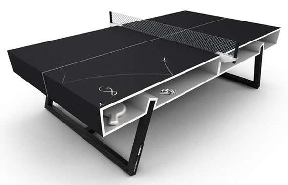 Chalkboard Table Tennis