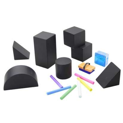 Chalkboard Building Blocks