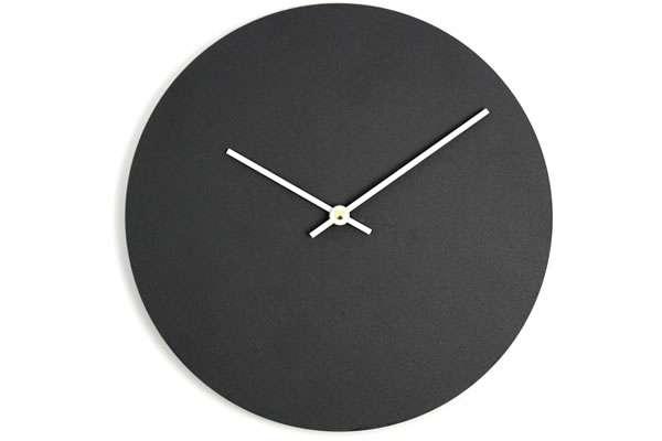 Chalkboard-Faced Clocks