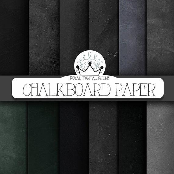 Chalkboard Paper Designs