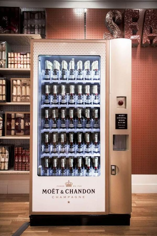 champagne dispenser