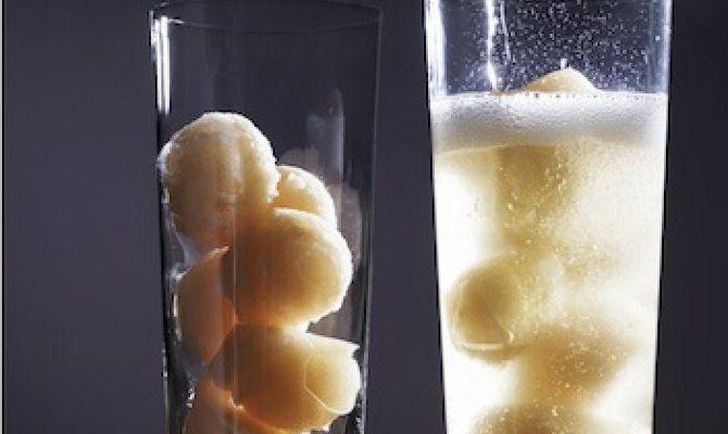 Champagne Sorbet Cocktails