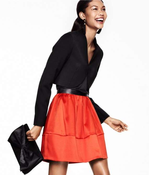 Chanel Iman for H&M Winter 2011