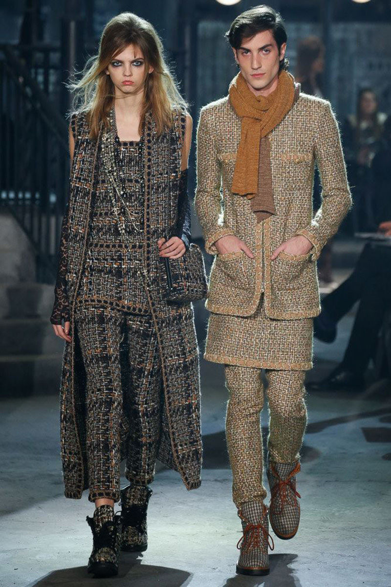 Coupled Tweed Collections