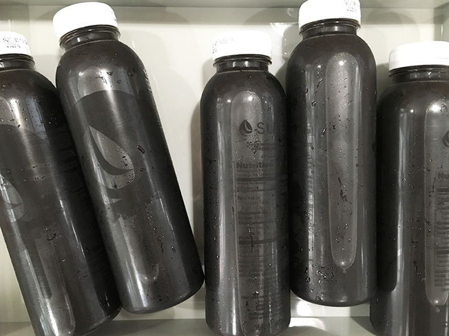 Limited-Edition Charcoal Drinks