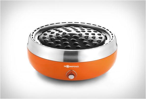 Smoke-Reducing Charcoal Grills