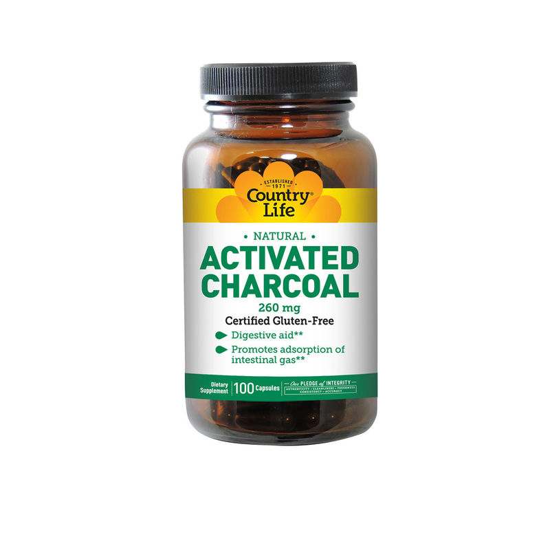 Digestive Charcoal Capsules
