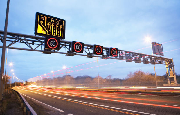 Vehicle-Charging Highways