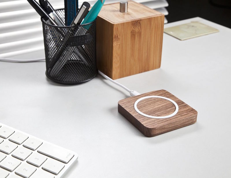 Wireless Wooden Device Chargers