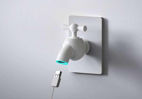 Faucet USB Hubs