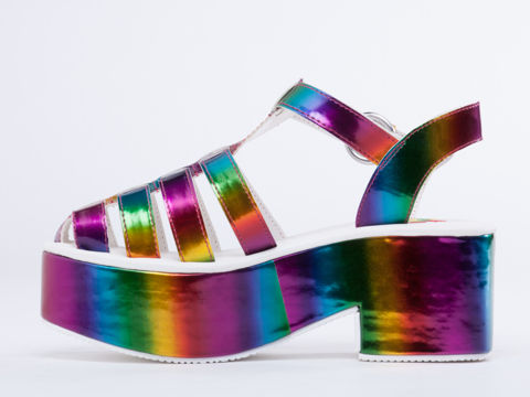 Rainbow Raver Footwear