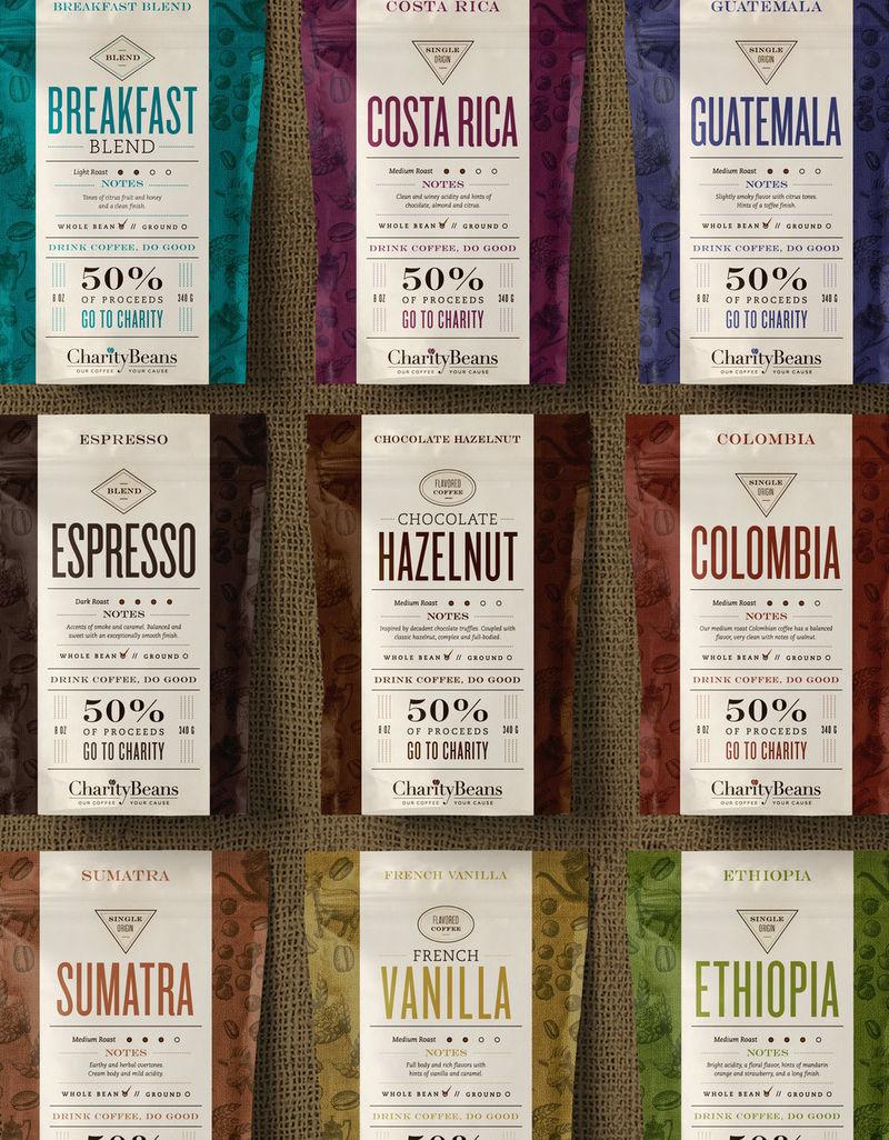 Charitable Coffee Beans