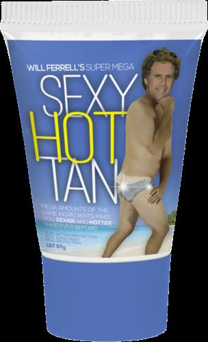 Humorous Celebrity Sunscreens
