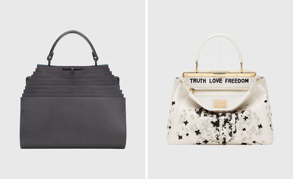 Geometric Charity Handbags