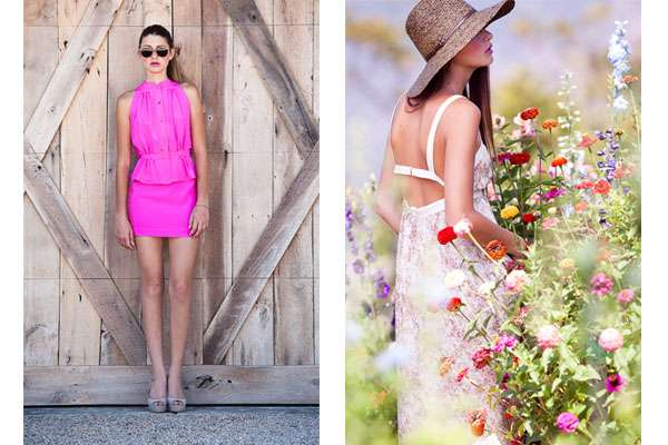 Charles Henry Spring 2012 lookbook