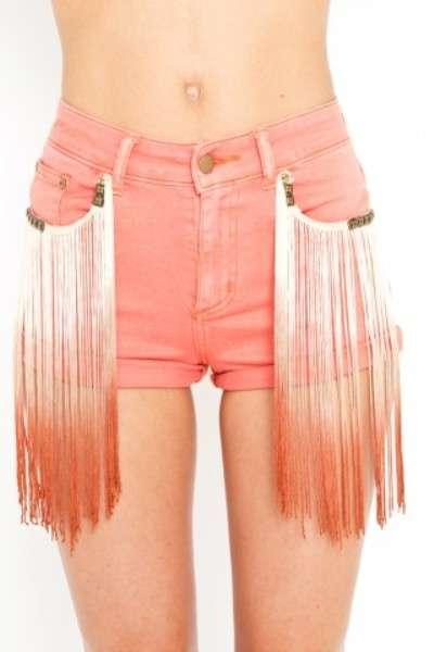 Dip-Dye Fringe Fashion