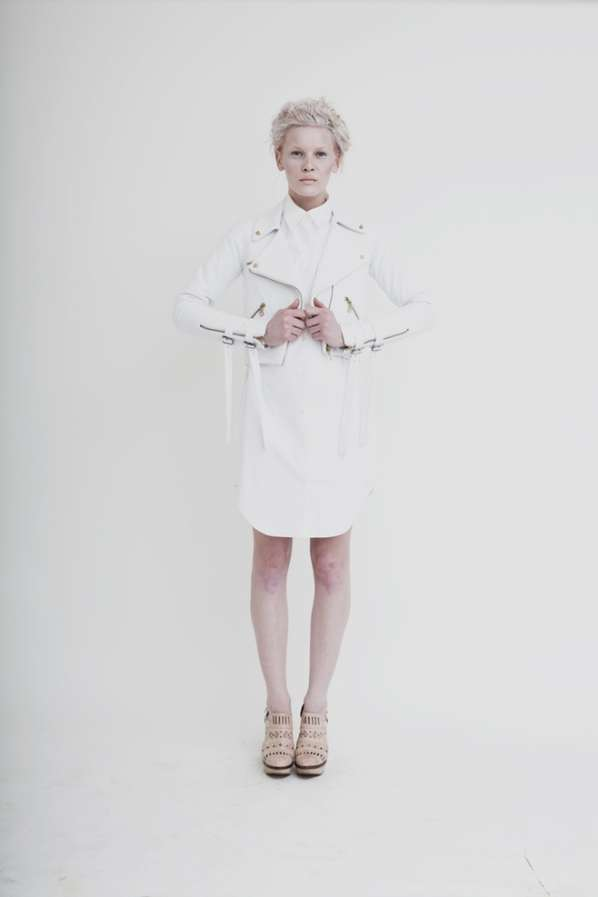 Ethereal Androgynous Lookbooks
