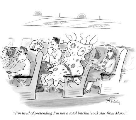Charlie Sheen Quotes As New Yorker Cartoons