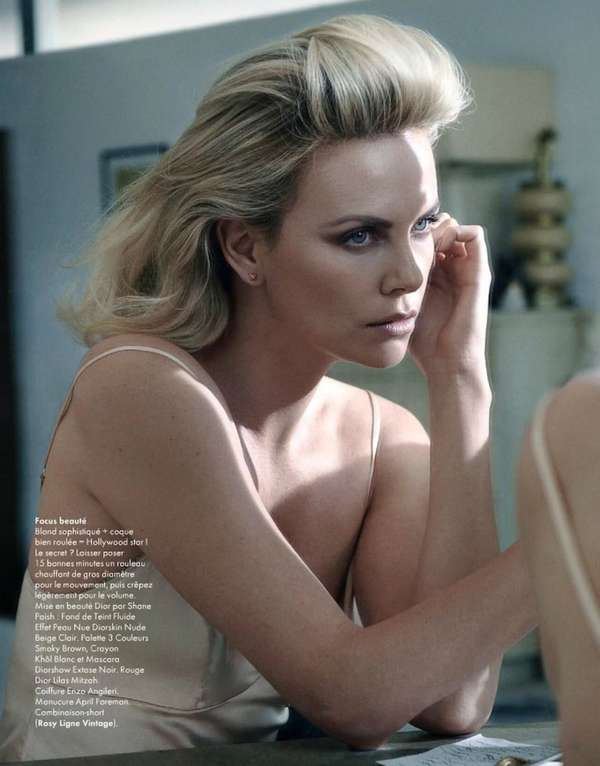 Charlize Theron Elle France