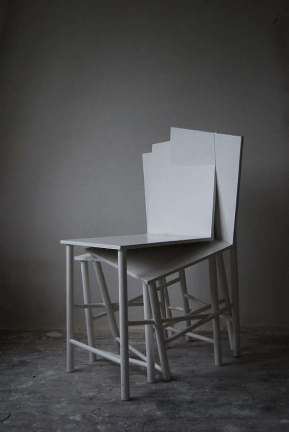 Delicately Collapsing Chairs