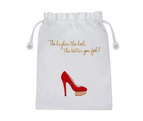 Chic Shoe-Carrying Totes