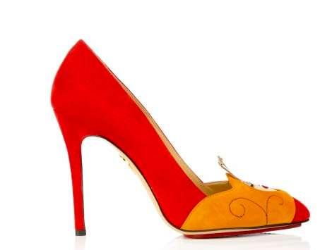 Sleeping Beauty-Inspired Heels