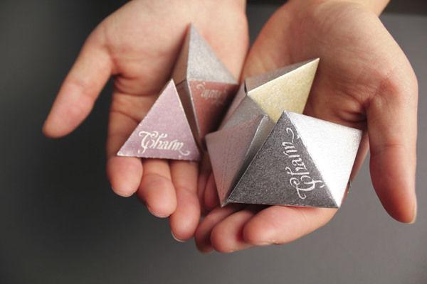 Triangular Chocolate Packaging