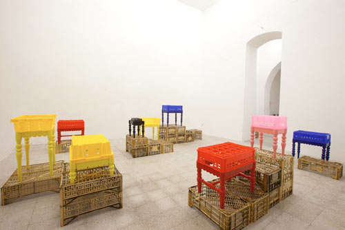 Upcycled Plastic Furniture