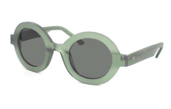 Retro Skeletal Sunglasses