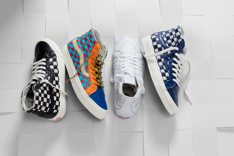 Celebratory Checkered Sneakers