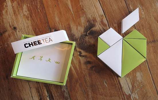 Chee Teachee Tea Packaging