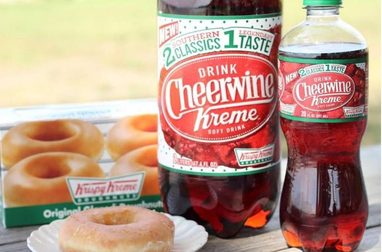 Co-Branded Donut-Flavored Sodas