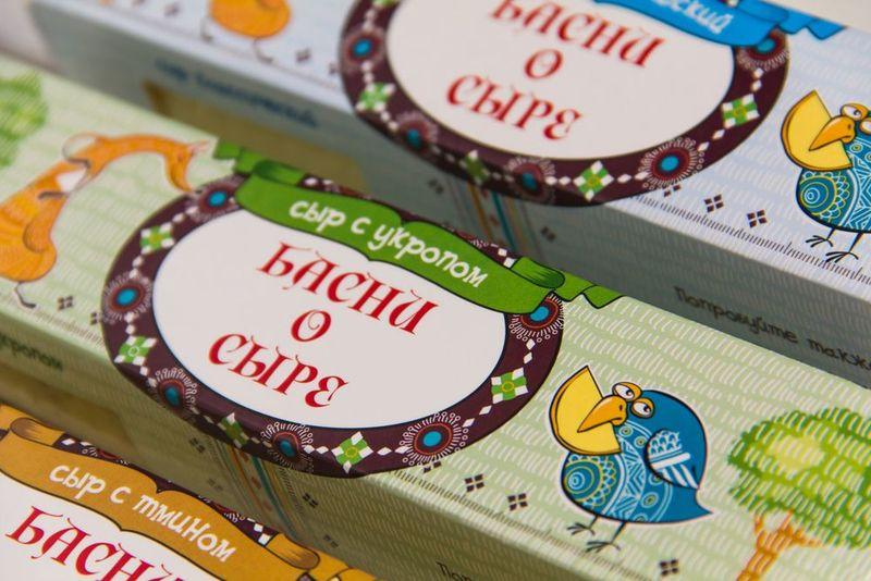 Fairytale Cheese Packaging