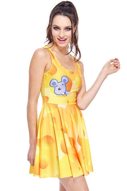 Bizarre Cheese Dresses
