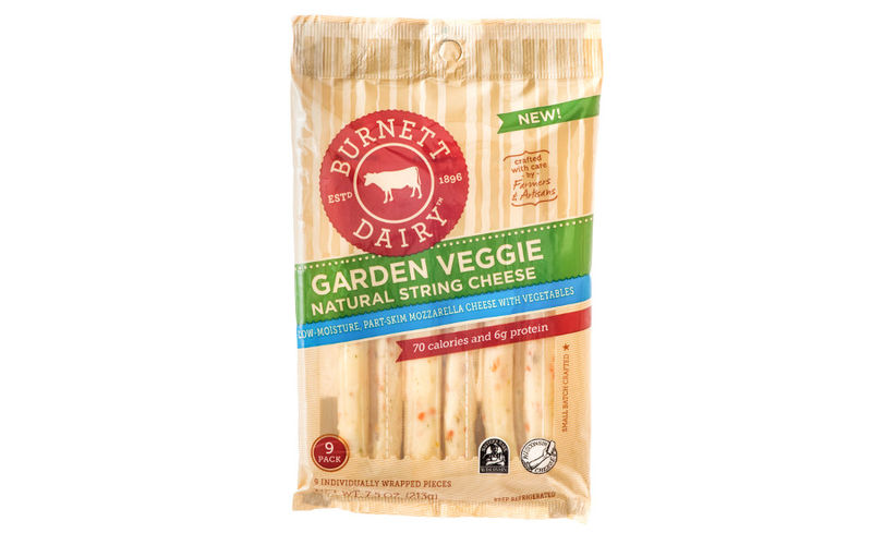 Vegetable-Infused Cheese Strings