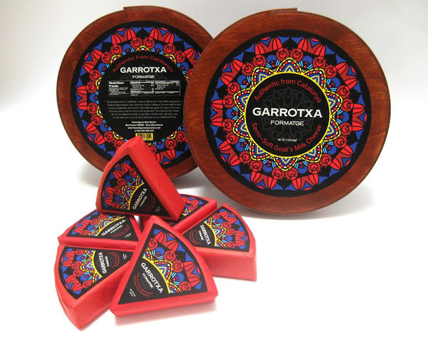 Mandala-Like Cheese Branding