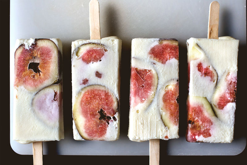 Fig Popsicle Recipes