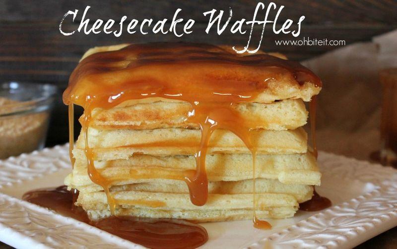 Cheesecake Waffle Hybrids