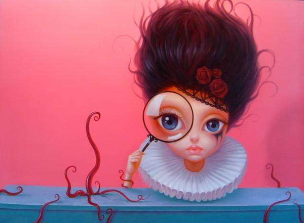 Bulgy-Eyed Beauty Paintings